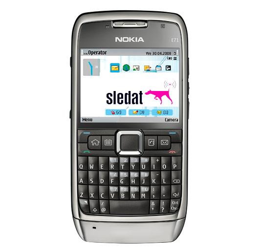 Sledat applicazione mobile sledat traccia di un for Mobile telefono